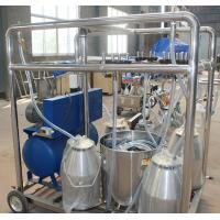 550l/Min Vacuum Pump Capacity Goat Milking Machine , Cow Milking Equipment Manufactures