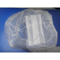 Cheap Soft Medical Disposable Hair Caps Hood Astronaut Caps PP Non Woven Material for sale