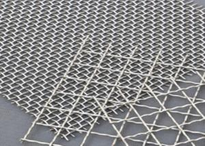 Cheap 0.5MM Mine Double Stainless Steel Crimped Wire Mesh for sale