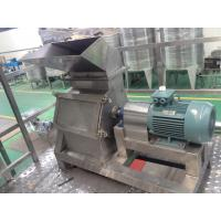 Cheap SUS304 Fruit Crusher Machine for sale