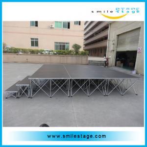 Cheap Aluminum assemble wedding decoration event stage portable stage for sale