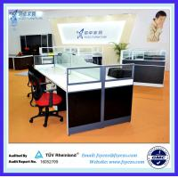 Buy cheap Q5 Frosted Glass Office Partitions/Office Workstations from Foshan from wholesalers