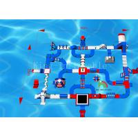 Buy cheap 145 Person Water Obstacle Adult Floating Play Aqua Fun Inflatable Water Park from wholesalers