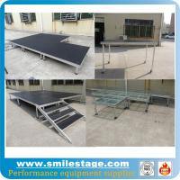 Cheap Outdoor aluminum modular stage for pillars truss system for sale