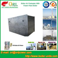 80 Ton Gas Boiler Air Preheater In Thermal Power Plant , AirPre Heater