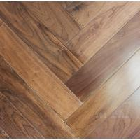 Cheap Black Walnut Fishbone wooden floors, American walnut herring bone herringbone flooring for sale