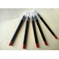 Cheap Long Lasting Red Lipstick Pencil PVC High Performance Simple Design ISO for sale