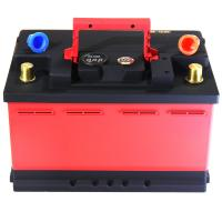 Cheap Red And Black Lifepo4 Battery Cells / Lithium Phosphate Car Battery CE FC RoHS for sale
