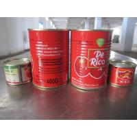 Cheap Tomato Primary Ingredient and ISO Certification DOUBLE CONCENTRATED TOMATO PASTE 400g with brix 28-30% for sale