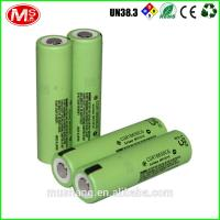 rechargeable 18650 lithium battery 3.7v lifepo4 battery cell for electric vehicle