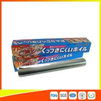 Cheap OEM Kitchen Aluminium Foil Roll Food Grade For Cooking / Freezing for sale