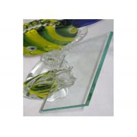 Cheap 4mm Clear Float Glass Safety Laminated Float Glass For Officer Window / Door for sale