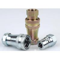 LSQ-S6 Hydraulic Couplings in ISO A Carbon Steel, Chrome Three, Middle East Type