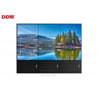 Cheap Frameless 3x3 Video Wall / Wireless Control Multi Screen Display Wall for sale