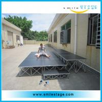 Cheap Aluminum stage platform with stairs for concert events for sale