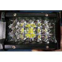 Cheap 6 Inch 54W  Led Work Lights 12v Trip Row 6500k Multiple Colors for sale