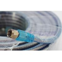 Cheap Terminated RG6 CATV Cable with Two Golden F Connectors for Satallite System Use for sale