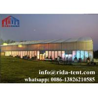Buy cheap Commercial Marquee Party Tent Fireproof Materials 0.55mm Pvc Tarpaulin from wholesalers