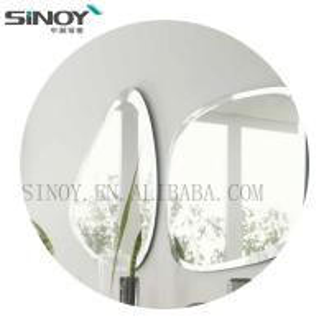 Cheap Edge Polished Simple Frameless Good design Bathroom mirror for Decoration for sale