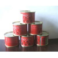 Cheap Canned food tomato sauce/tomato paste/ketchup sachet brix 28-30% manufacture/exporter for sale