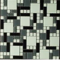 crystal glass mosaic tiles for bathroom and kitchen