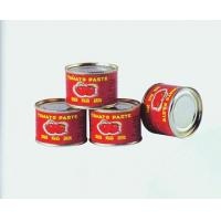 Cheap factory direct supply price canned tomato paste brix 28-30%&36-38% with easy open lid for sale
