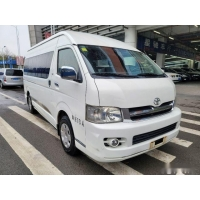 Cheap Used Hiace Bus Toyota Hiace 13 Seats Gasoline Engine Left Hand Drive for sale