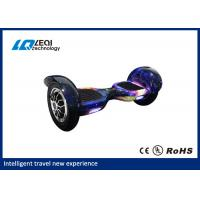 Portable 10 Inch Self Balancing Scooter Hoverboard With Led Lights And Bluetooth