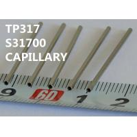 Cheap TP317 / S31700 Special Alloys Capillary 0.25 - 8.0mm OD For Horological Industry for sale