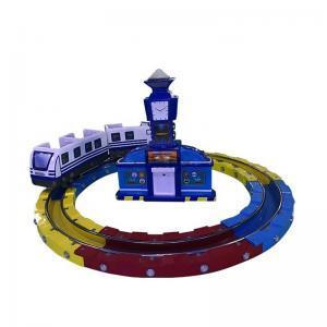 Buy cheap Track Railway Train Amusement Arcade Machines / Kids Amusement Ride from wholesalers