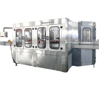 Cheap Sunswell PLC 500ml Carbonated Beverage Filling Machine Equipment for sale