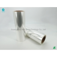 Cheap Cigarette BOPP Packaging Film 5% Shrinkage Rate High Clear Smooth Surface for sale