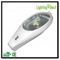 Cheap 20w 30w solar powered led street lighting lamp fixtures with aluminium reflector glass cover for sale