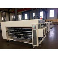 Buy cheap High Precision Automatic Feeder Flexo Corrugated Printer Slotter Machine / from wholesalers