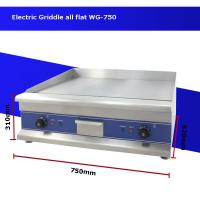 Cheap CE Best electric griddle Cast iron griddle for Hotel kitchen equipment WG-750 for sale