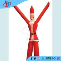 Cheap ​Blue Inflatable Balloons For Advertising / Giant Inflatable Santa Claus Two Legs for sale