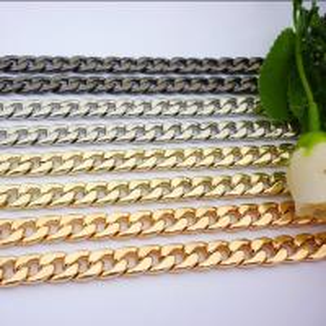 Cheap Combine Structure Gold Handbag Chain , Crossbody Chain Strap Nickel & Lead Free for sale