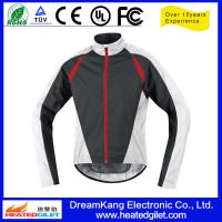 Cheap Outdoor Polyester Pongee Heat Protection Motorcycle Rain Jacket for sale