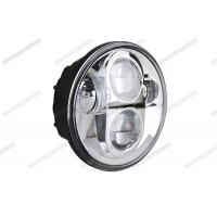 Cheap 5.75 Inch Round Motorcycle Headlight , 4x4 Harley LED Headlight For Off Road / Jeep for sale