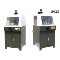 Cheap 2800rpm Metallographic Sample Abrasive Cutting Machine Controllable Feeding Speed for sale
