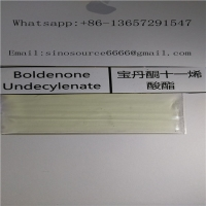 Cheap Raw Equipoise Liquid Boldenone Steroids , Boldenone Undecylenate Yellow Liquid CAS 13103 34 9 for sale