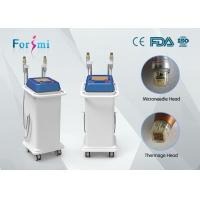 Cheap 5Mhz RF microneedle beauty machine with 25pin ,49 pin ,81 pin needles for option for sale