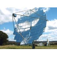 Cheap Silver Coated Clear Glass CSP Solar Mirror 1.1mm For Sterling Solar Plant for sale