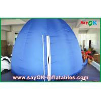 Buy cheap Blue 5m Oxford Cloth Inflatable Planetarium Projection Dome for Astronomy from wholesalers