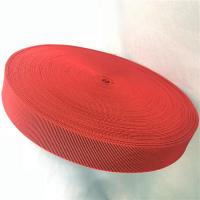 Buy cheap Outdoor Furniture Cover Type Elastic Upholstery Webbing in red color from wholesalers
