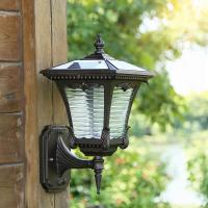 Cheap Motion Sensor Solar Powered Outdoor Wall Lights , Solar Outdoor Wall Lantern for sale