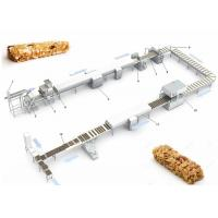 Buy cheap High Quality Protein Candy chocolate Nougat Bar making Machine Production Line from wholesalers