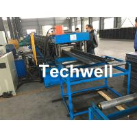 High Speed Cable Tray Roll Forming Machine With 18 Steps Forming Stations Manufactures