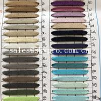 Cheap Resistant  PU Synthetic Leather soft leather fabric materials for sale