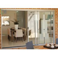Cheap Balcony Weather Resistant Aluminium Sliding Doors Double or Three Tracks for sale